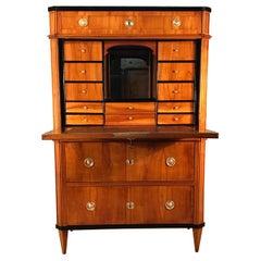 Neoclassical Drop Front Desk, Switzerland, 1810-1820