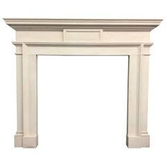 Neoclassical Fireplace in Portland Stone