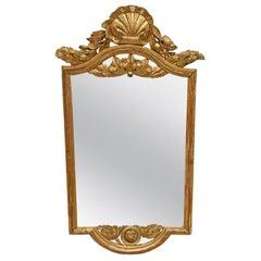 Neoclassical Gilt Console Mirror