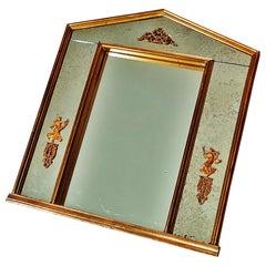 Neoclassical Gilt Empire Mirror, France