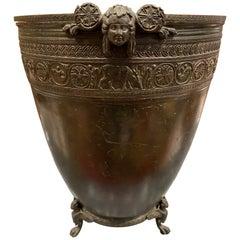 Neoclassical Grand Tour Bronze Vessel by J. Chiurazzi & Fils