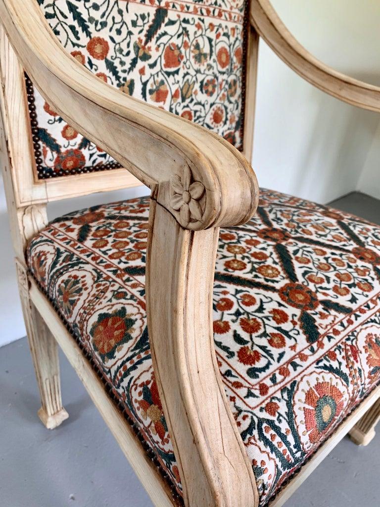 Neoclassical Italian Armchair, 18th Century For Sale 6