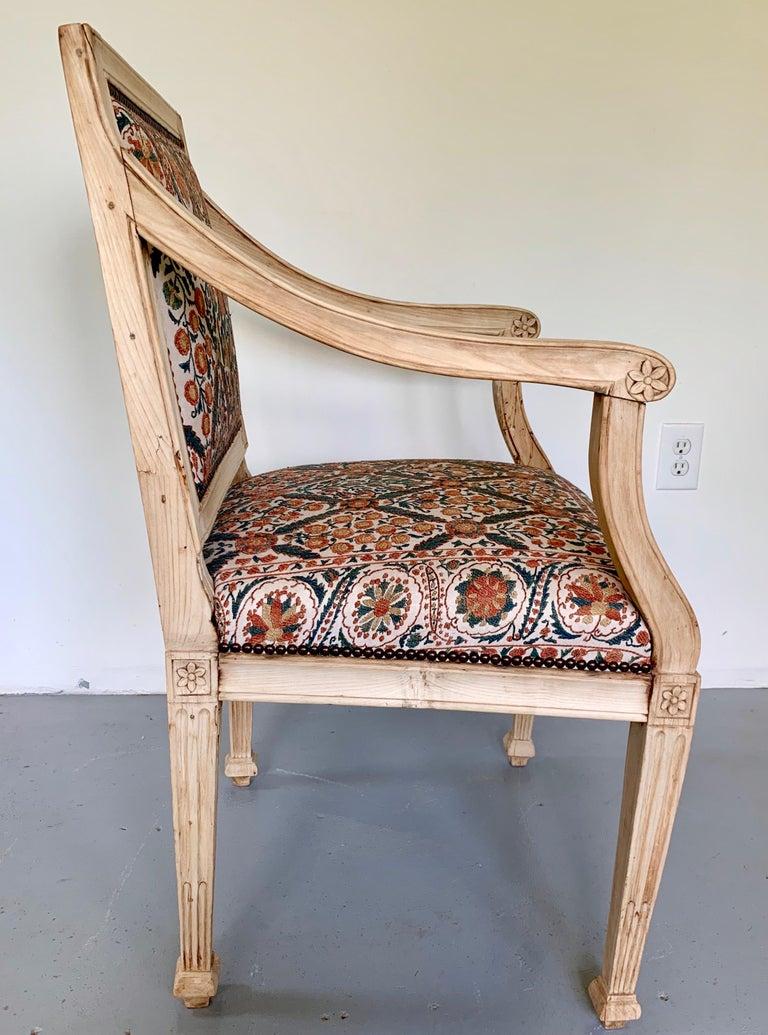 Neoclassical Italian Armchair, 18th Century For Sale 1