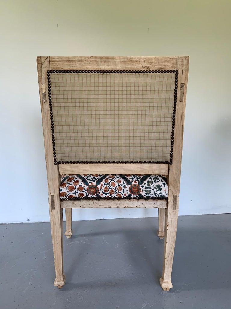 Neoclassical Italian Armchair, 18th Century For Sale 2