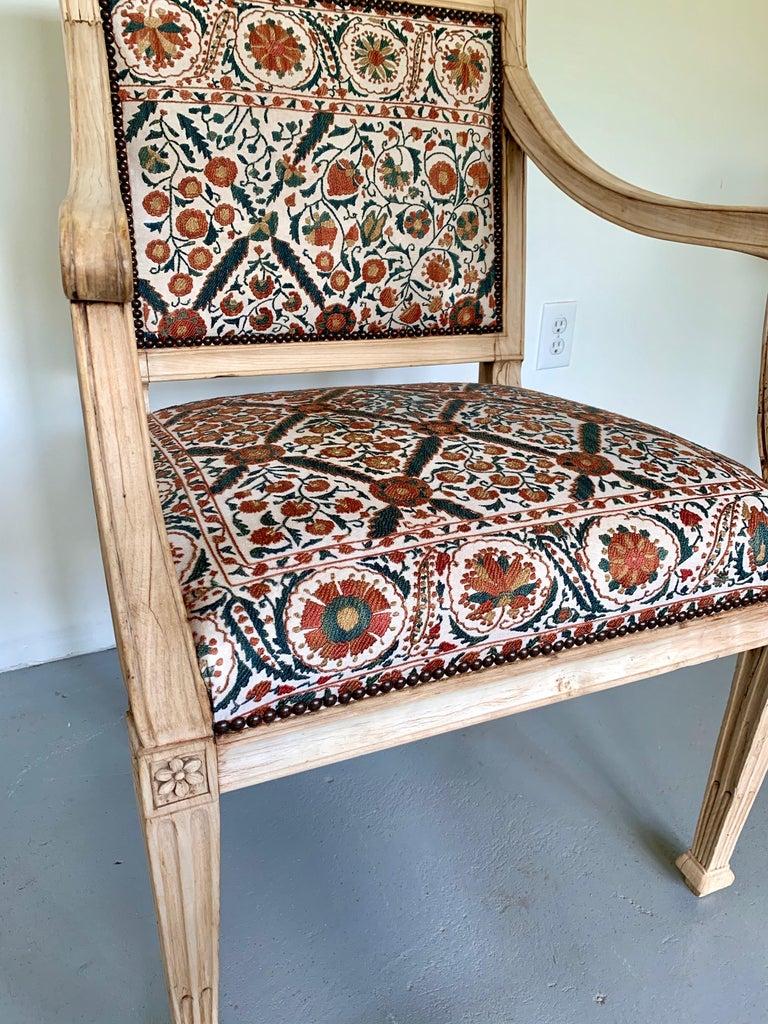 Neoclassical Italian Armchair, 18th Century For Sale 3