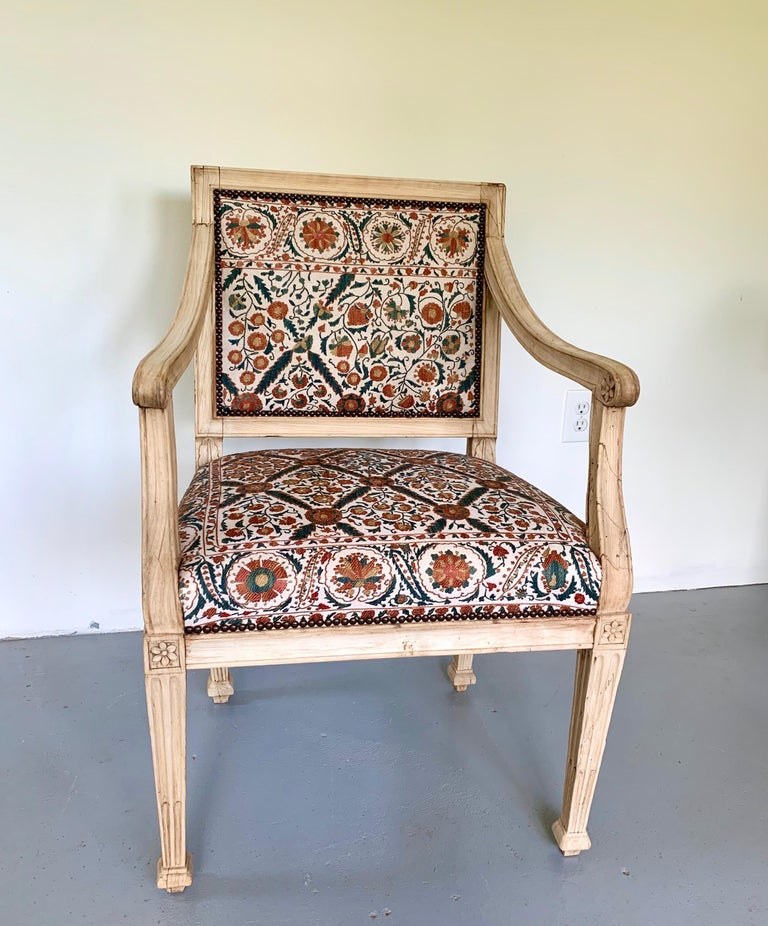 Neoclassical Italian Armchair, 18th Century For Sale 4