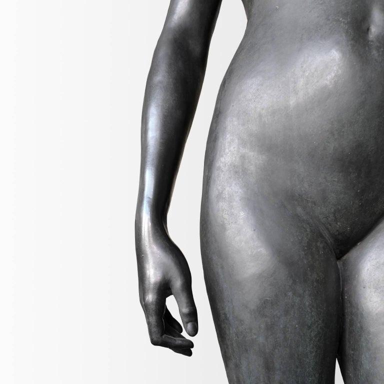Neoklassische Bronze Statue von Psyche in Lebensgröße, Ludvig Brandstrup, Dänemark, 1898 5