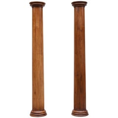 Neoclassical Majestic Oak Columns
