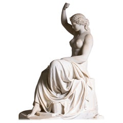 Neoclassical Marble Sculpture of Eirene, Italy, Early 19th Century