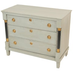 Neoclassical Painted Chest of Drawers