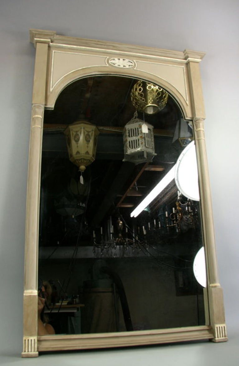 Wood Neoclassical Painted Mirror 'View Large Assortment of Mirrors' For Sale