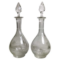 Neoclassical Parisian Style Beaux Arts Pair of French Bottles