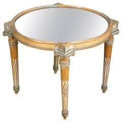 Neoclassical Revival Mirrored Table