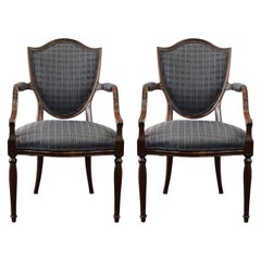 Neoclassical Revival Style Armchairs