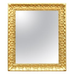 Neoclassical Revival Style Carved Giltwood Mirror