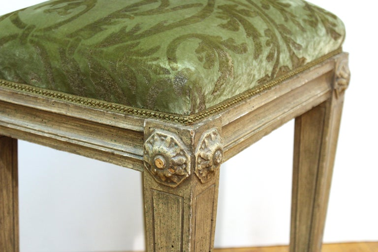 20th Century Neoclassical Revival Style Wood Benches For Sale