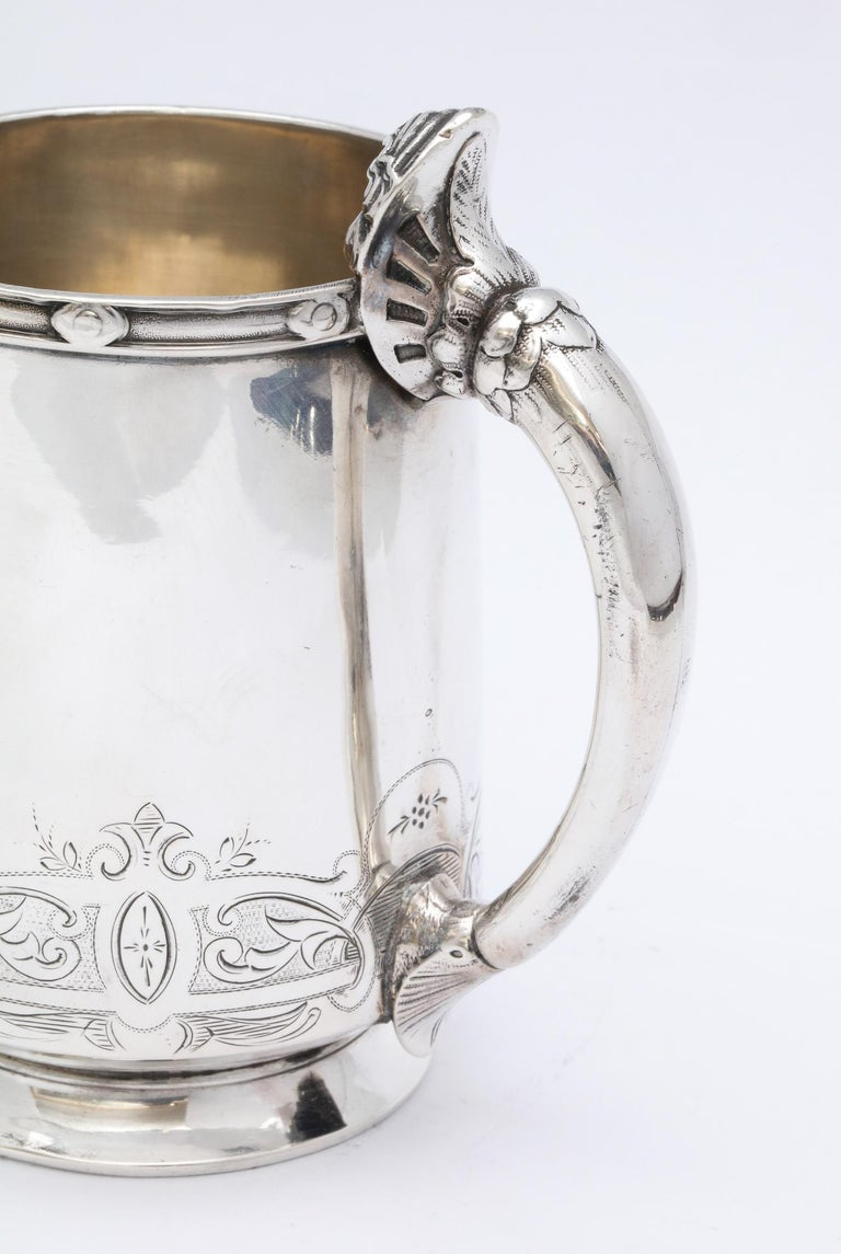 Neoclassical Sterling Silver Child's Cup/Mug by Gorham For Sale 5