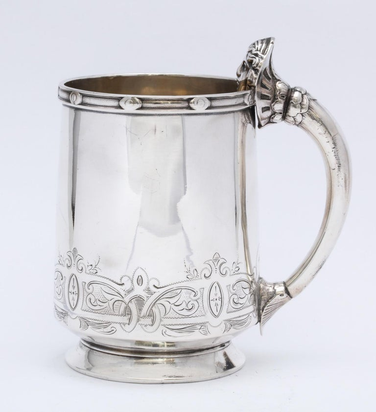 Neoclassical Sterling Silver Child's Cup/Mug by Gorham For Sale 7