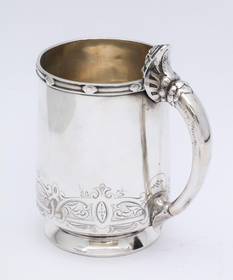 American Neoclassical Sterling Silver Child's Cup/Mug by Gorham For Sale