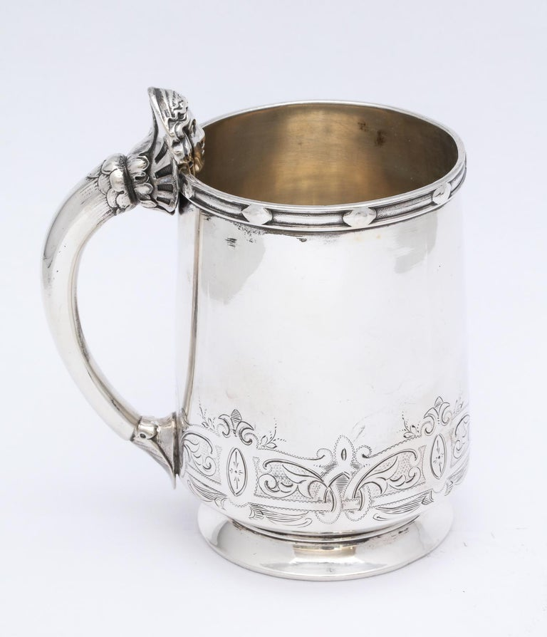 Neoclassical Sterling Silver Child's Cup/Mug by Gorham For Sale 1