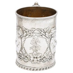 Neoclassical Sterling Silver Mug/Cup by The Whiting Mfg. Co.