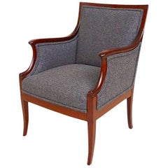 Neoclassical Style Armchair by Frits Henningsen