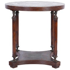 Neoclassical Style Bronze Center Table