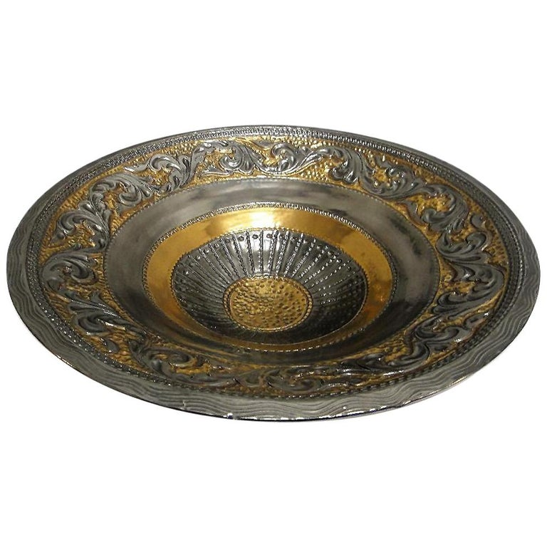 Marioni Neoclassical Style Ceramic Centerpiece, Italy For Sale