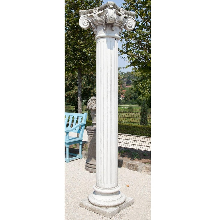 Neoclassical-Style Column In Good Condition For Sale In Greding, DE