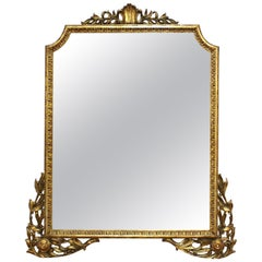 Neoclassical Style Giltwood Wall Mirror