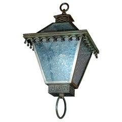 Neoclassical Style Hanging Lantern