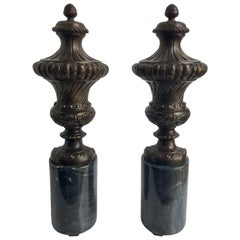 Neoclassical Style Mantel Urn Table Lamps