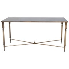 Neoclassical Style Rectangular Coffee Table by Maison Baguès, France, 1940s