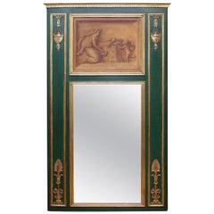 Neoclassical Trumeau Pier Mirror