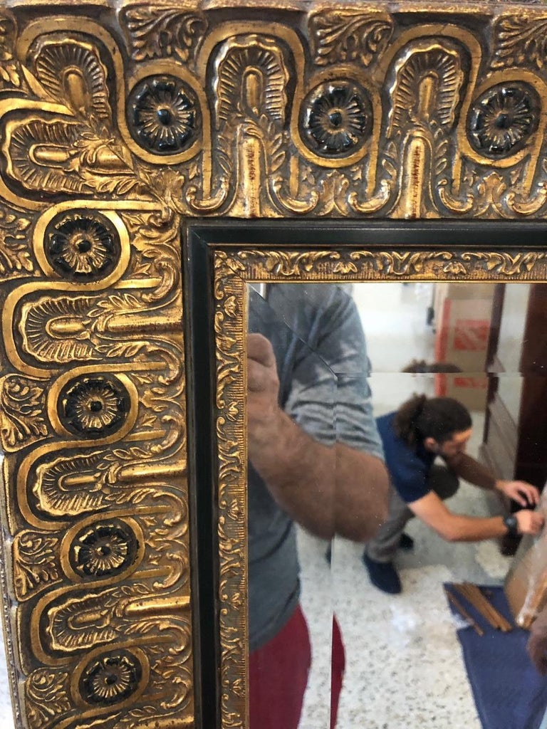 20th Century Neoclassical Wall Mirror For Sale
