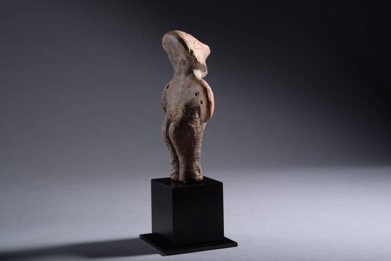 Neolithic Terracotta Vinca Idol, 4500 BC For Sale 6
