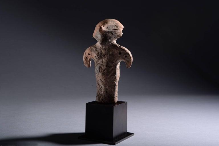 Neolithic Terracotta Vinca Idol, 4500 BC For Sale 8