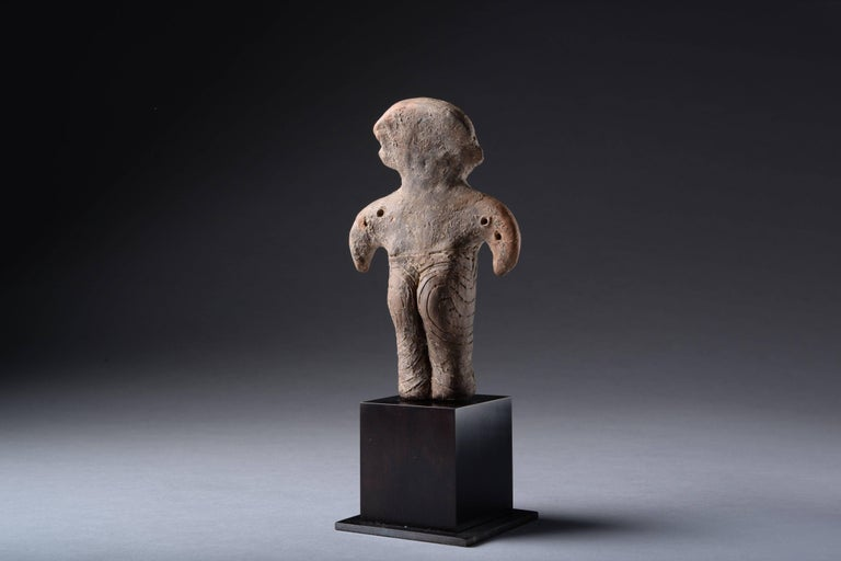 Neolithic Terracotta Vinca Idol, 4500 BC For Sale 2