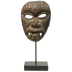 Nepal Himalayan Wood Mask, Early 20th Century