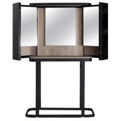 Neri & Hu Dressing Table 'The Narcissist' Swarovski Crystals and Oak by BD