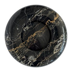 Nero Portoro Marble Bowl by Sergio Asti for UP & UP