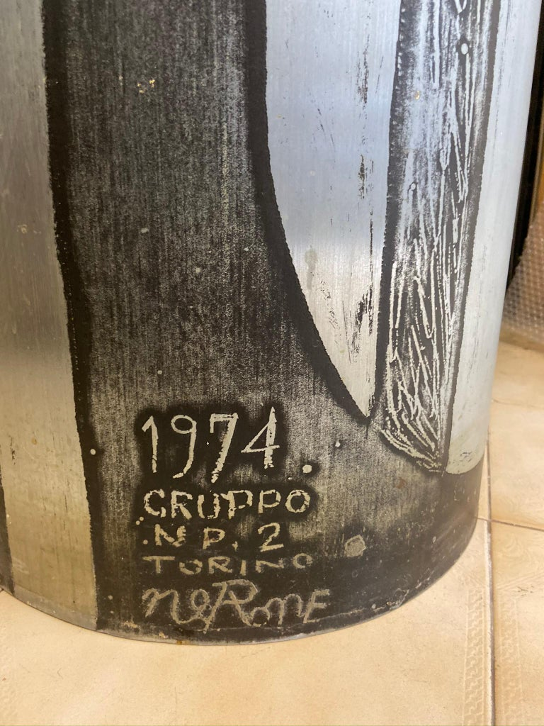 Nerone e Patuzzi NP2 Column Sculpture, 1974 In Excellent Condition In Naples, IT