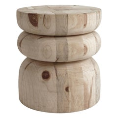 NERU 4 Stool/Table 'Contemporary, Abstract, Wood Utility Sculpture'