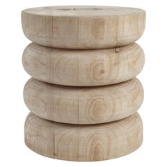NERU 5 Stool/Table 'Contemporary, Abstract, Wood Utility Sculpture'