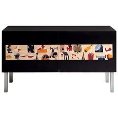 Nesporama Intarsia Sideboard by Ugo Nespolo