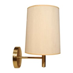 Nessen Studio Brushed Brass Wall Lamp