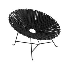 Nest Armchair in Black or White Indoor-Outdoor