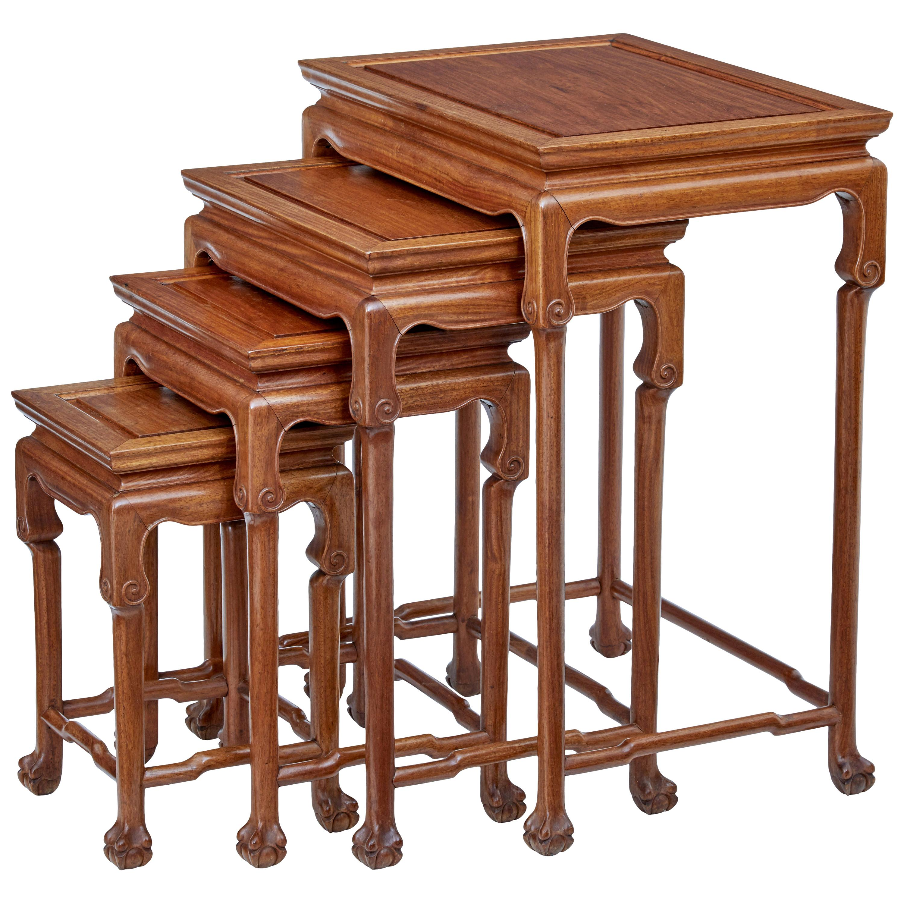 Exceptionnel Chinese Nesting Tables And Stacking Tables   38 For Sale At ...