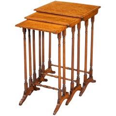 Nest of Regency Mahogany Tables