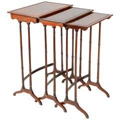 Nest of Regency Period Tables, circa 1820